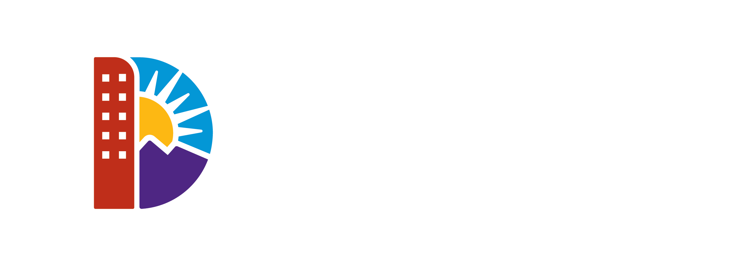 Official City and County of Denver - The Mile high City logo