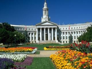 Image of the Denver City and County building.