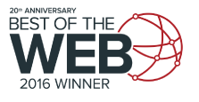Best of the Web Award 2016 1st Place