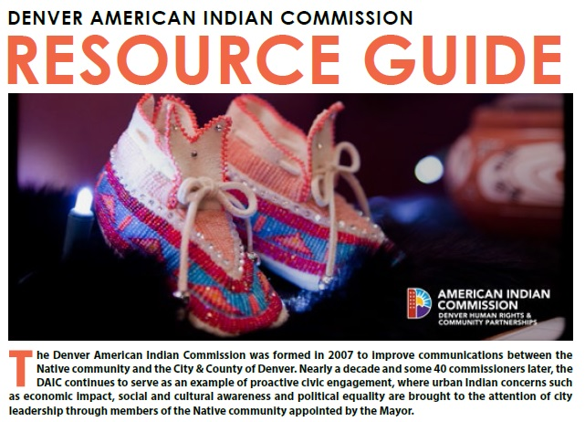 Denver American Indian Commission Resource Guide