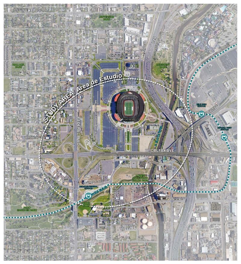 Stadium District Master Plan on