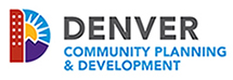Denver Community Planning and Development logo