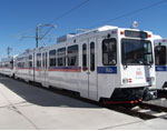 RTD light rail train