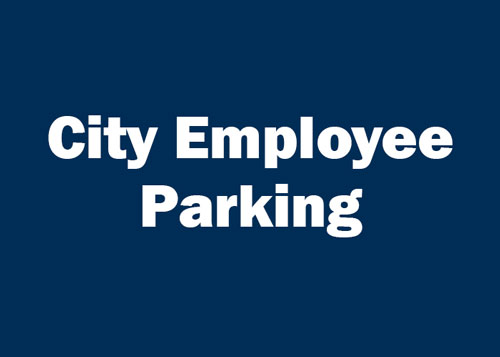 City Employee Parking