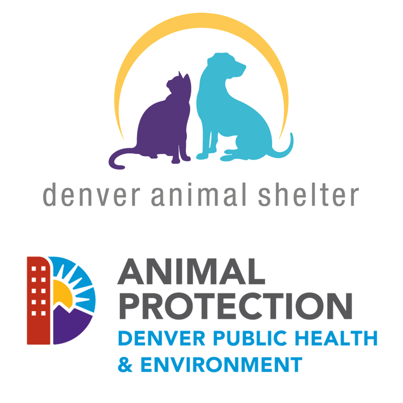 Denver Animal Shelter and Animal Protection Denver Public Health and Environment Logo