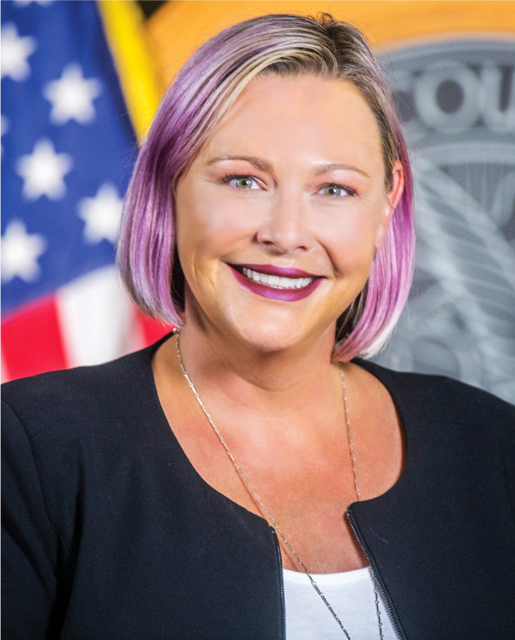 Official picture of Councilwoman Amanda Sawyer.