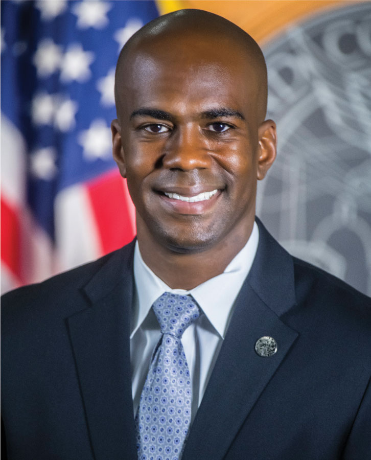 Official picture of Councilman Christopher Herndon.