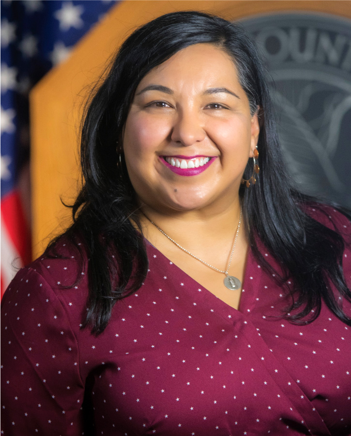 Official picture of Councilwoman Jamie Torres.