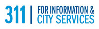 Dial 3-1-1 for information and city services