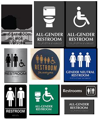 Gender Neutral Single Occupant Restrooms