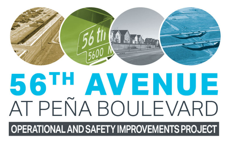 56th Avenue at Pena project logo