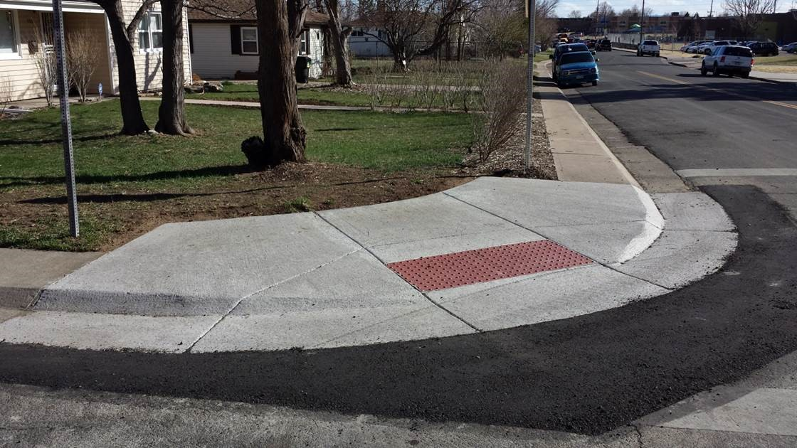 Concrete Amp Ada Pedestrian Improvements Streets And