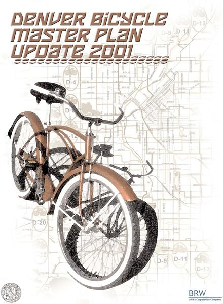 Denver Bicycle Master Plan Update 2001 (cover)