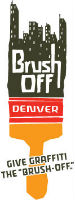 graphic of Brush Off logo