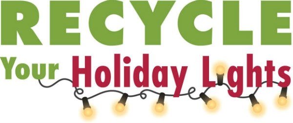 Do you have broken, burned-out or impossibly tangled sets of holiday lights  stored away with last year's holiday decorations? Don't throw them out –  recycle ... - Recycle Your Holiday Lights