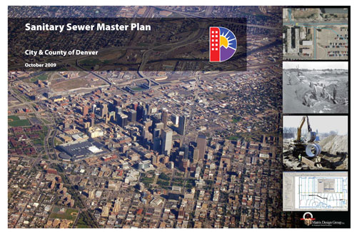 Sanitary Sewer Master Plan report cover