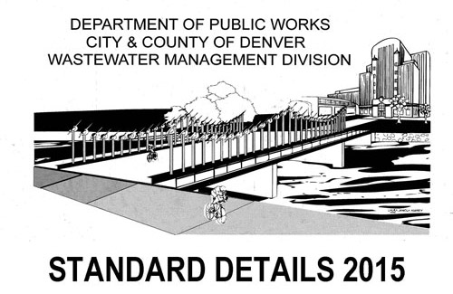 Standard Detail Drawings cover sheet