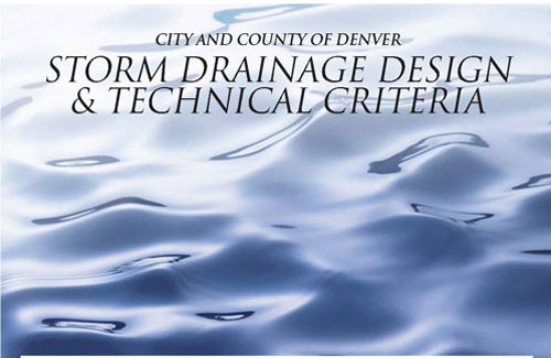 Storm Drainage manual cover