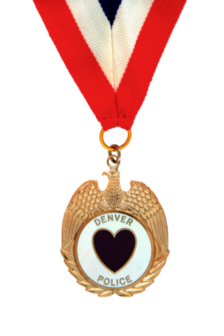 photo of purple heart medal