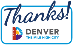 Thanks Denver advertising graphic for the 2012 Measure 2A