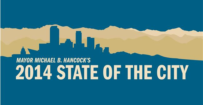 Mayor Michael B. Hancock's State of the City - cover graphic