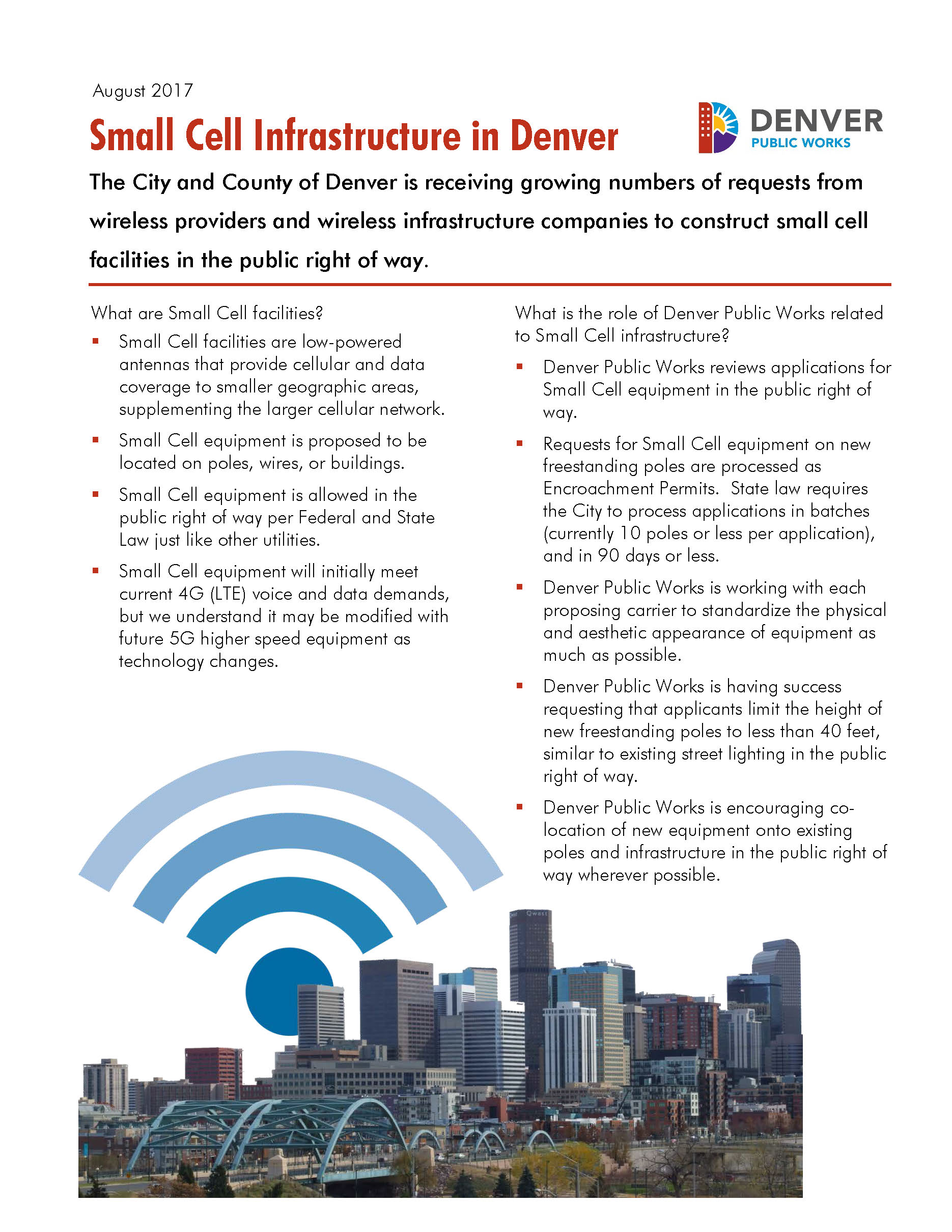 Small Cell Info Sheet