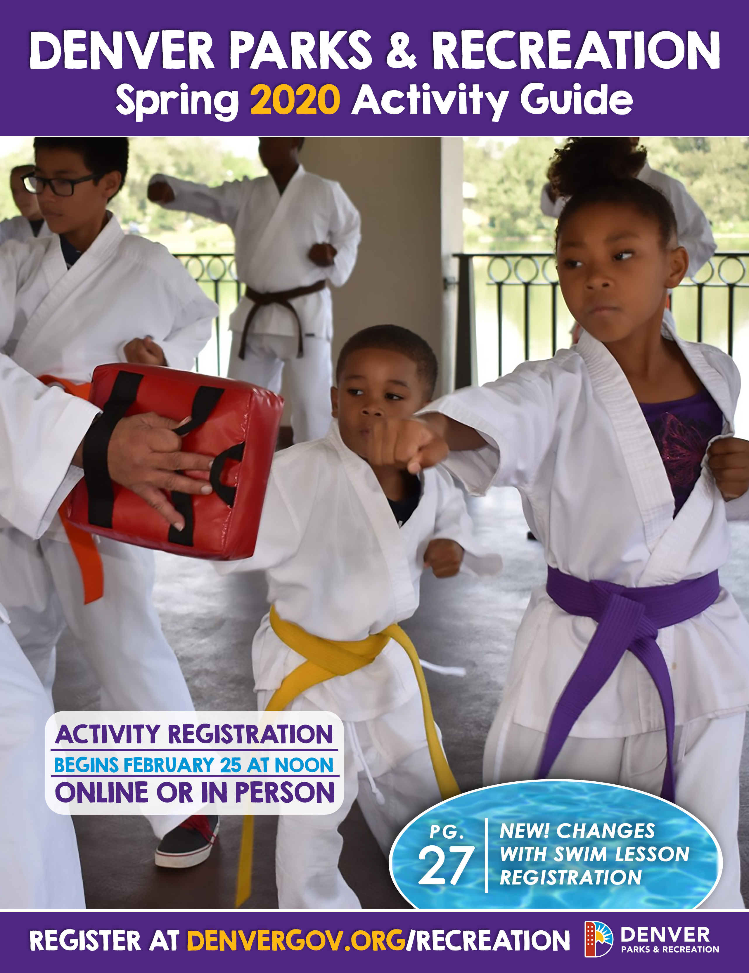 browse the recreation activity guide