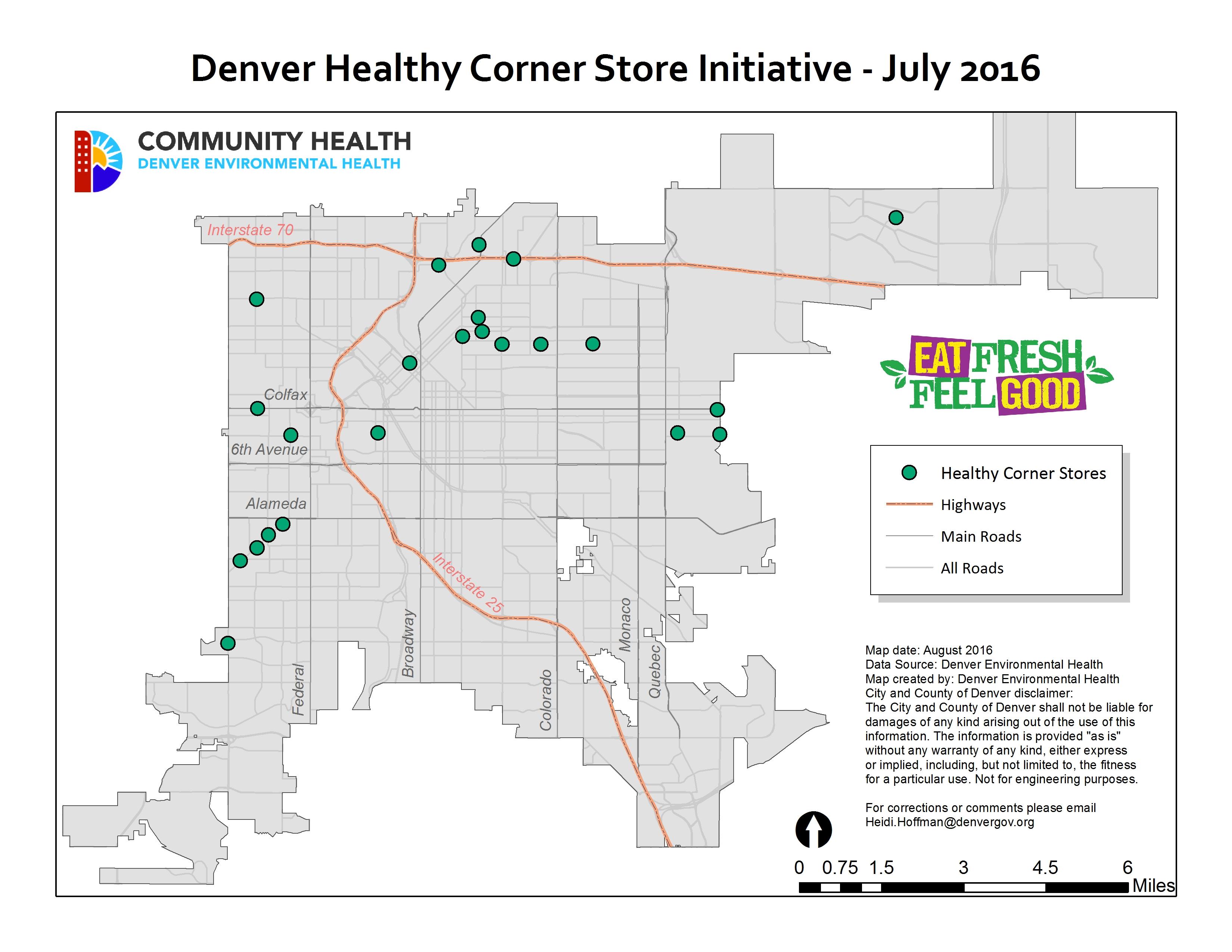 Environmental Health Community Health Healthy Corner Stores