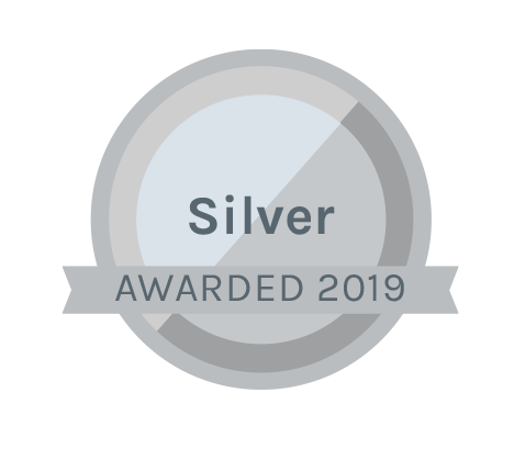 silver medal awarded 2019