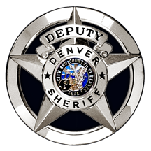 Denver Sheriff badge