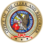 Offical Denver Clerk and Recorder Seal
