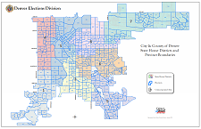 Colorado House of Representatives Citywide Map