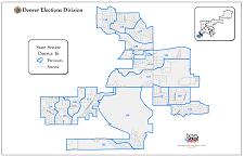 Colorado State Senate Districts Map