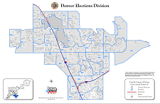 Thumbnail Denver City Council District Map
