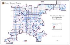 Thumbnail Denver Neighborhoods Map
