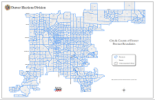 Thumbnail Denver Citywide Precinct Map