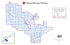 Thumbnail Denver Public Schools District Map