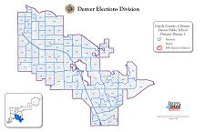 Thumbnail Denver Public Schools District Map