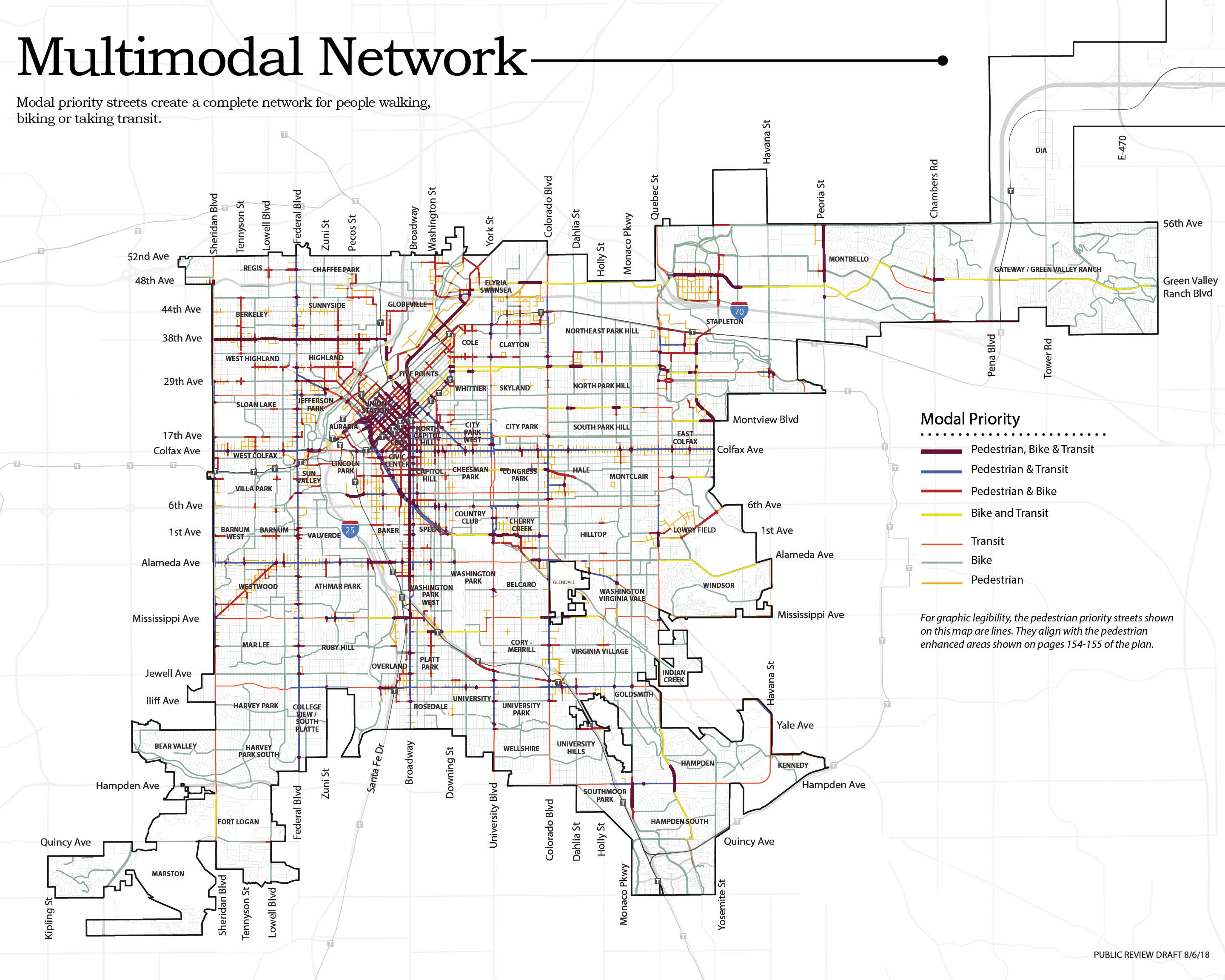 Multimodal network map from Blueprint Denver 2018