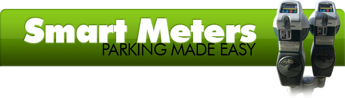 Smart Meters: Parking Made Easy - meters with coin and card slots