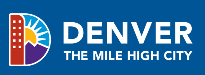 Denver Logo Full Color Reversed Image