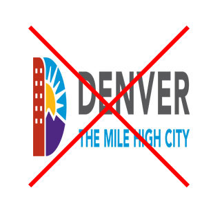 Denver logo stretched horizontally