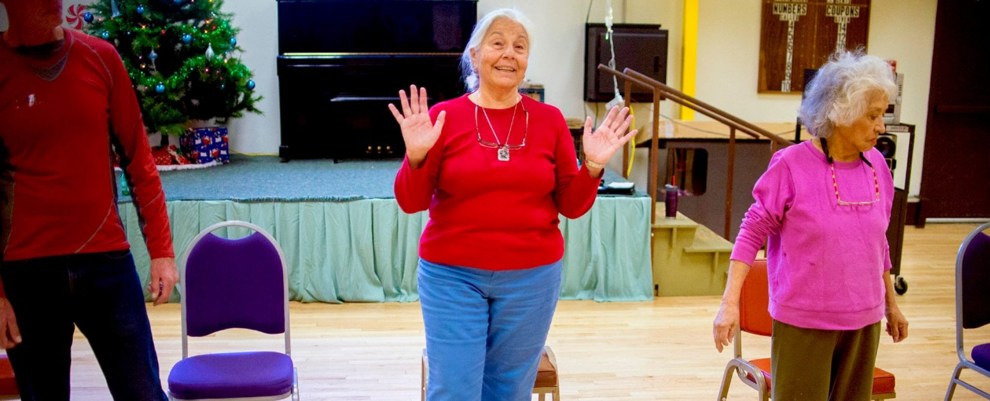 tap dancing class for older adults