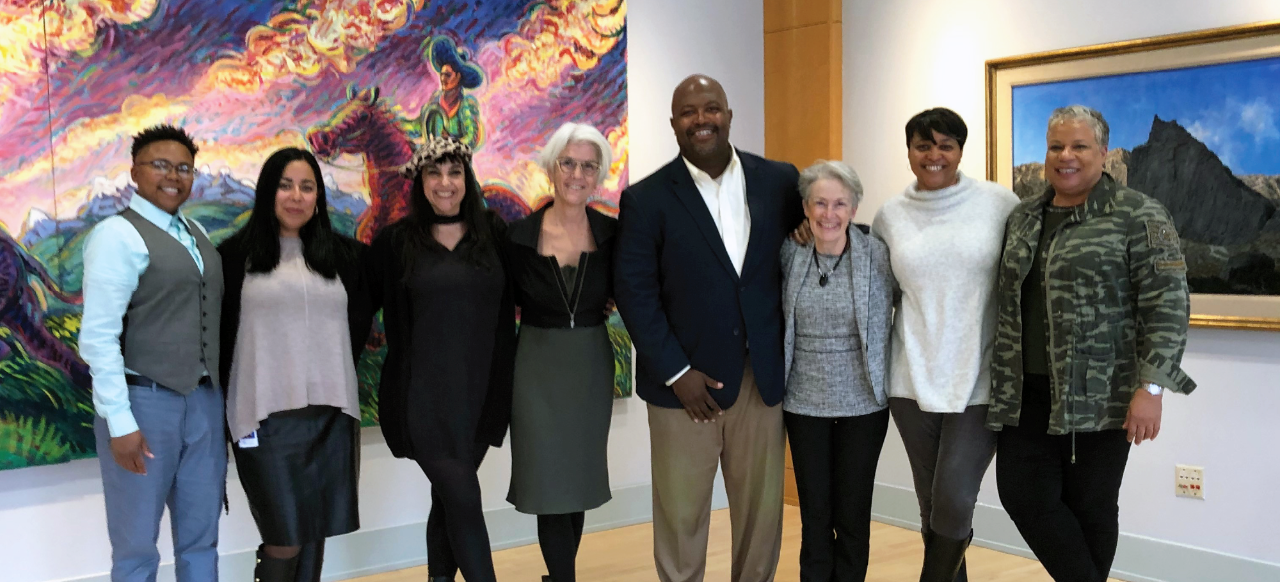 Group photo of Denver's Office of Social Equity and Innovation team
