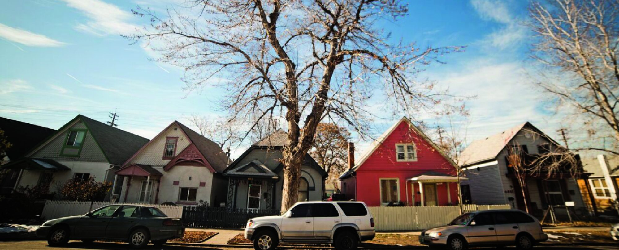 Photo of a row of houses in Denver