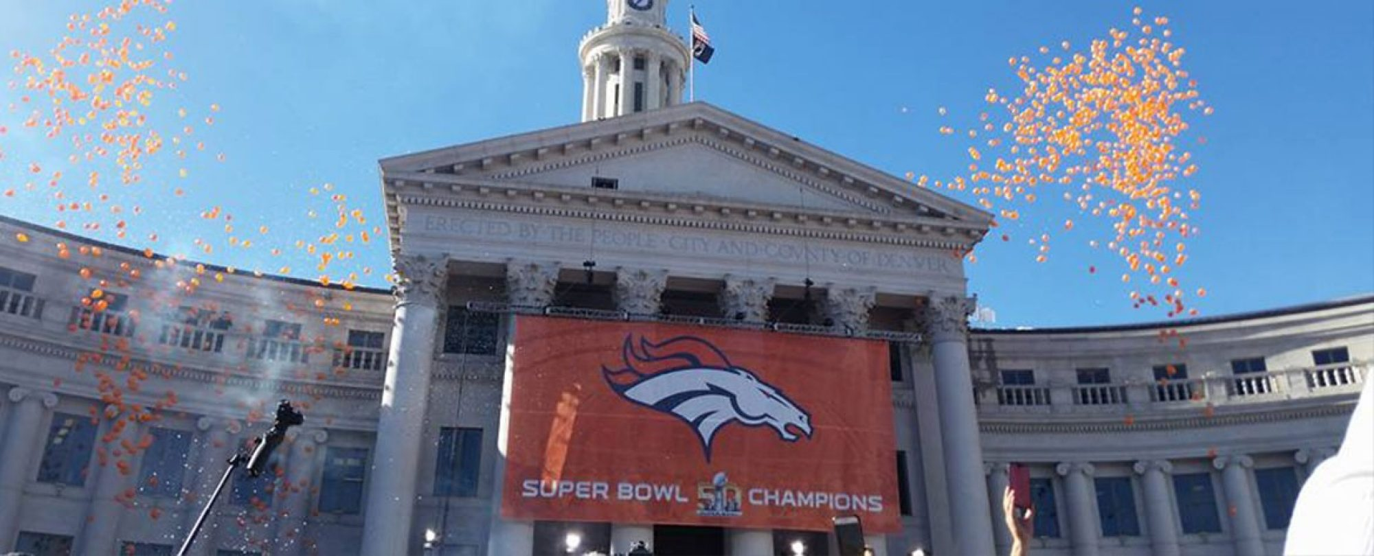 Denver Broncos Superbowl Parade
