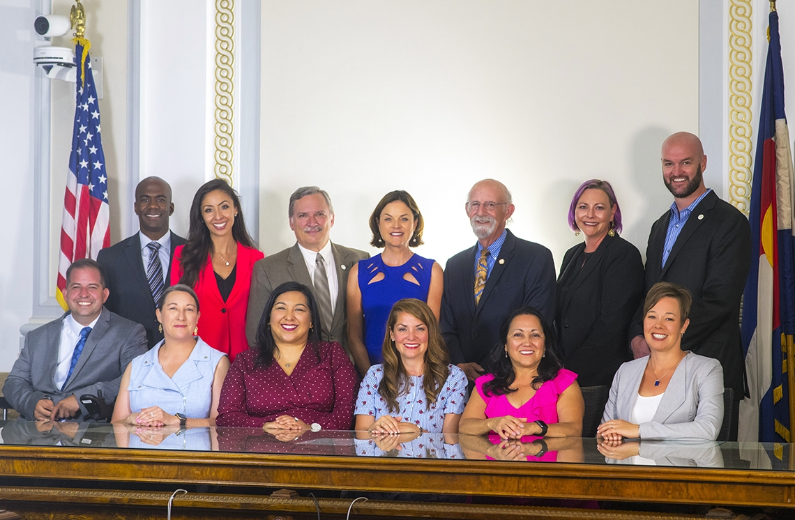 Denver City Council group photo