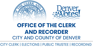 Office of the Clerk and Recorder Logo