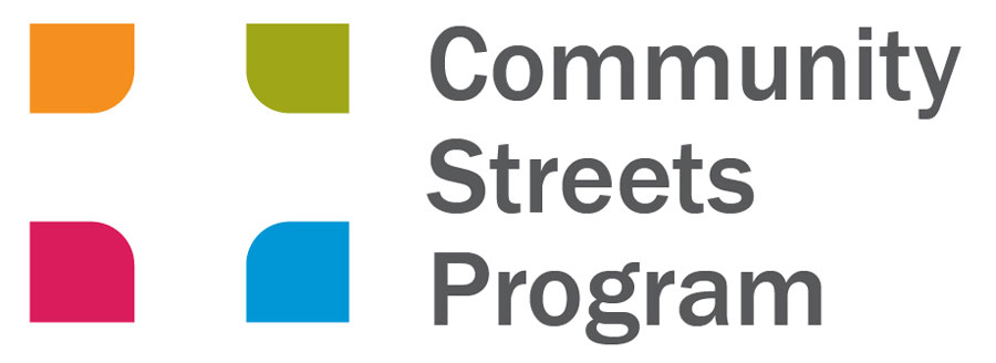 Community Streets Program logo