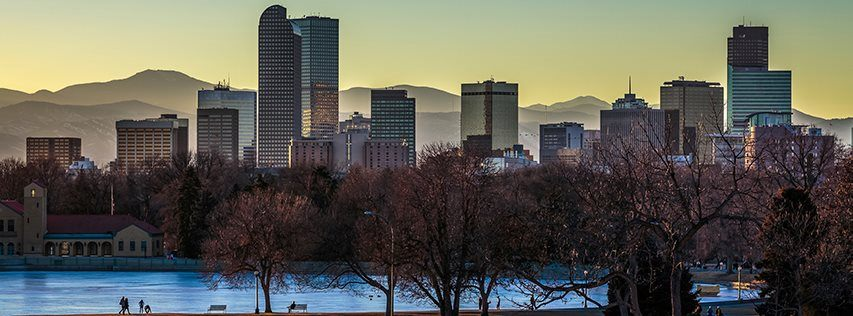 photo of Denver skyline